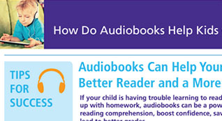 How do audiobooks help kids