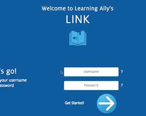 how to use learning allys link